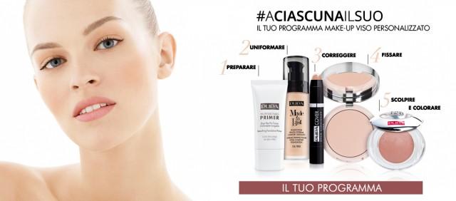 Scopri il tuo programma make up viso personalizzato