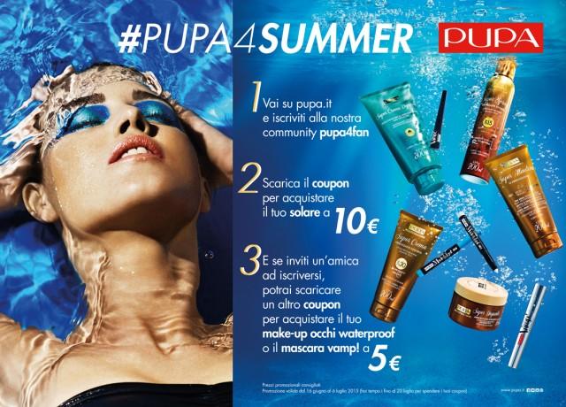 #PUPA4SUMMER, 2 COUPON