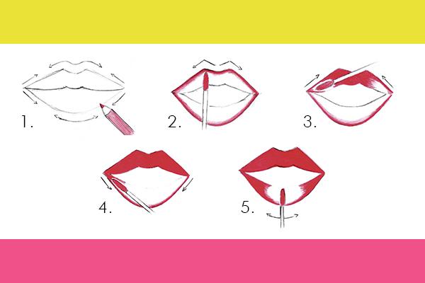 Come applicare rossetto i'm matt lip fluid