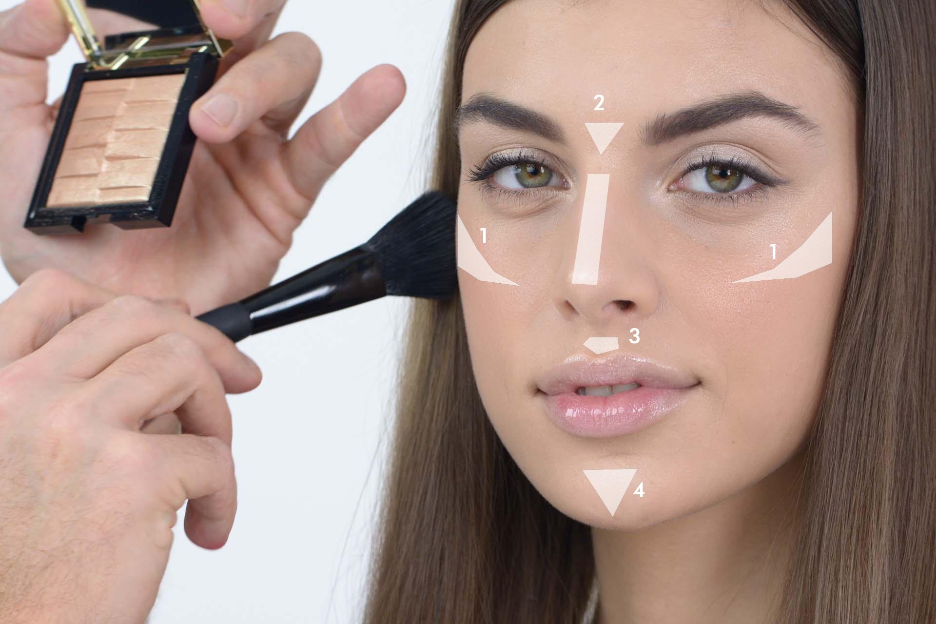 Famoso Strobing: come illuminare il viso col trucco (TUTORIAL) RD51