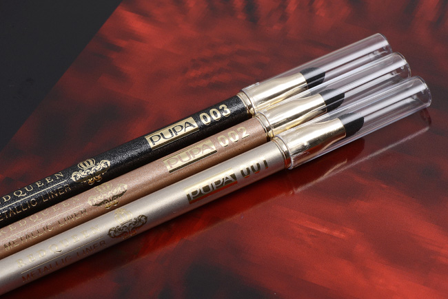PUPA MILANO RED QUEEN Metallic Effect Eyeliner Pencil