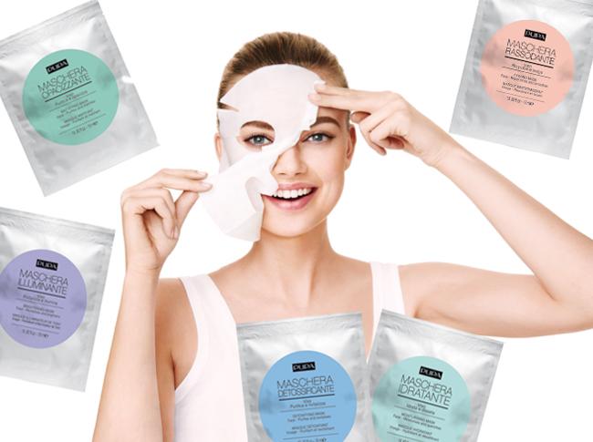 maschere tessuto