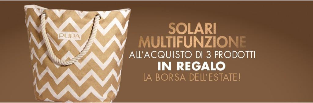 Scopri la promo solare Pupa Multifunzione