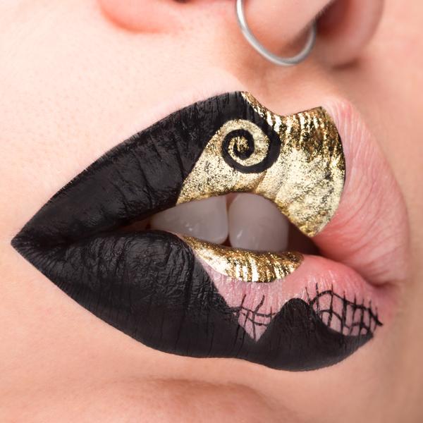 halloween lip art di Greta Agazzi per Pupa Milano