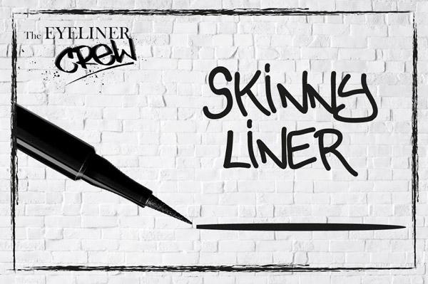 skinny liner, l'eyeliner dalla punta fine