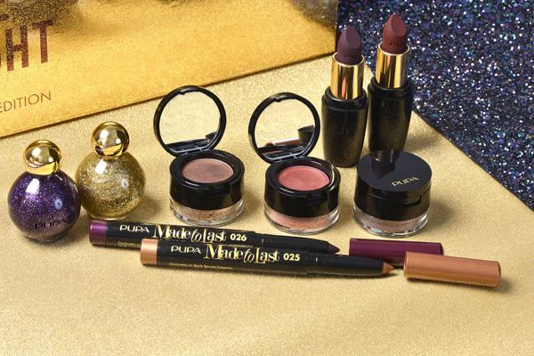 scopri la collezione per il makeup delle feste