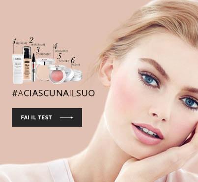 Scopri i tuoi prodotti makeup viso ideali! Fai il test!