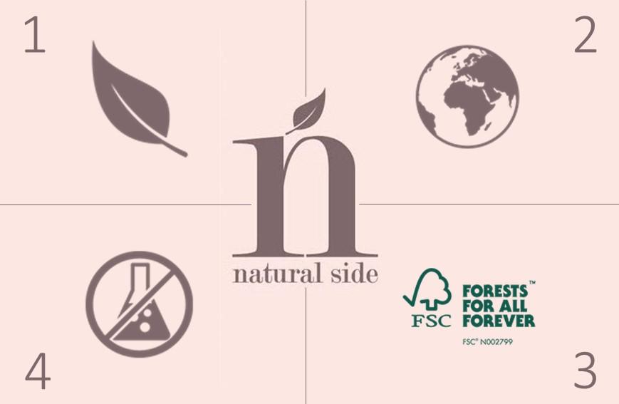 I simboli del trucco naturale