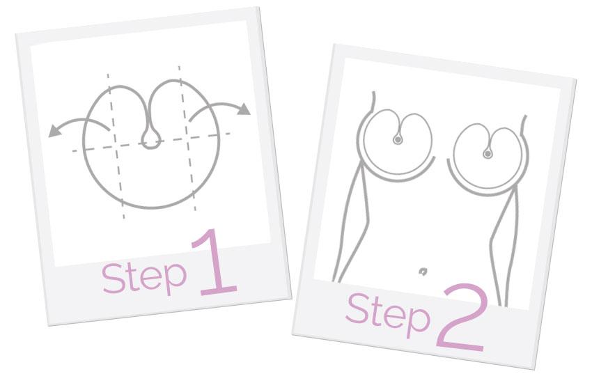 come rassodare il seno step 1-2