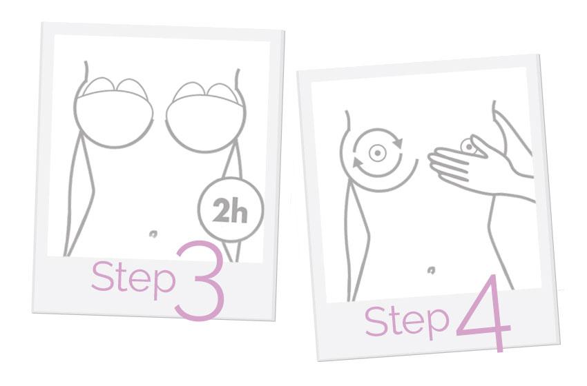 come rassodare il seno step 3-4