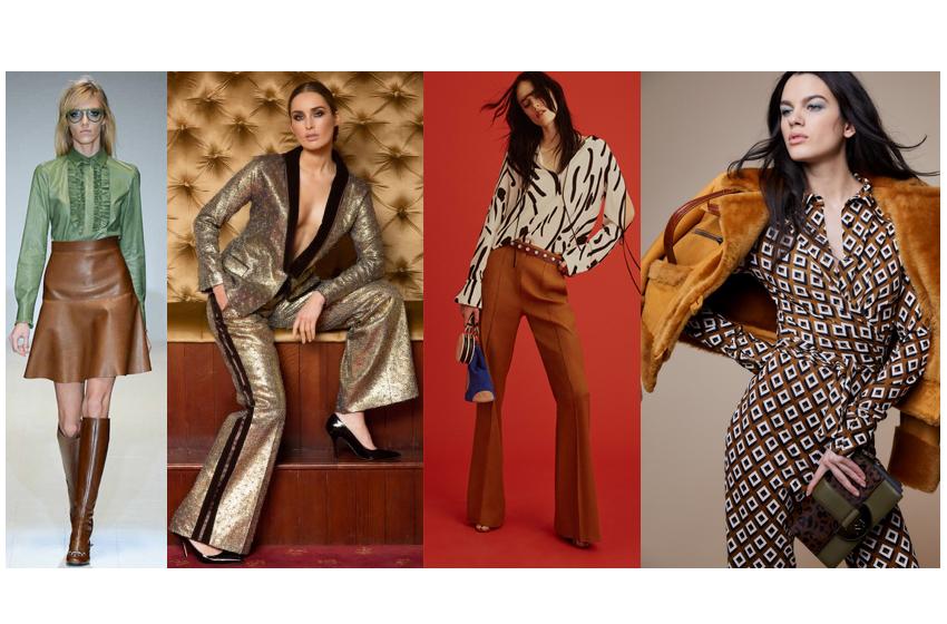 look anni '70 scopri i look che hanno ispirato la collezione autunno Retro Illusion