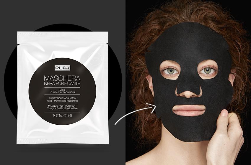 maschera nera quale scegliere? scopri qui quella in tessuto