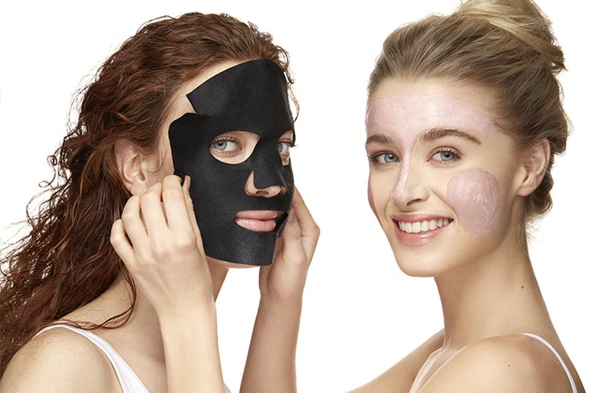 maschera facciale nera