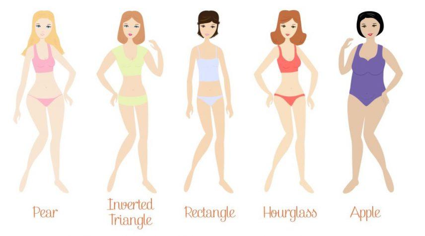 disegno fisici donne