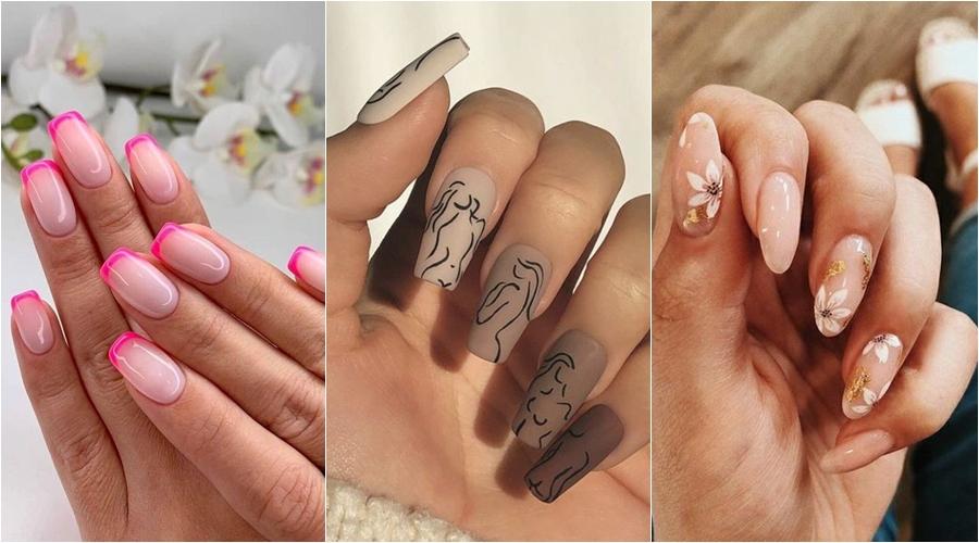 trend unghie 2021: tre esempi di nail art